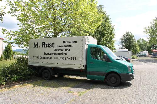 LKW Bauunternehmen Rust Bauplanung